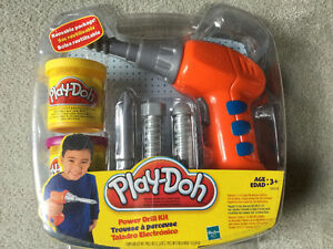 BRAND NEW PLAY-DOH POWER DRILL KIT