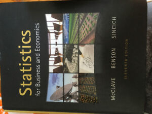 Statistics for business and economics textbook 11th edition