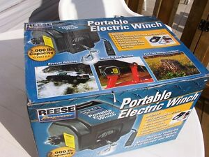PORTABLE 12V ELECTRIC WINCH