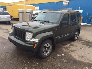 2008 Jeep Liberty Trail Rated Edition !