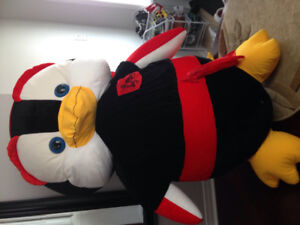 Giant stuffed penguin 5 feet for sale.