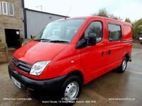 2008 LDV MAXUS 6 SEAT CREW VAN, MINIBUS, SWB, ONE OWNER ( ROYAL MAIL ) F.S.H.