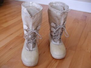 Winter Work Boots with Felt Liner Inserts Size 11