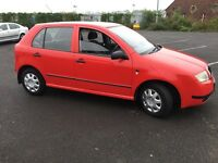 2001 SKODA FABIA MOT AND SERVICE DRIVES WELL