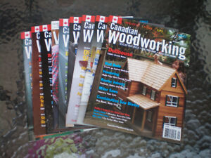 Canadian Woodworking Magazines Carpentry Wood Finishing