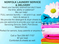 FULL Service Laundry Pick up & Delivery