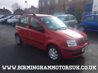 2008 (08 Reg) Fiat Panda 1.3 16V MULTIJET DYNAMIC 5DR Hatchback RED + CHEAP TAX