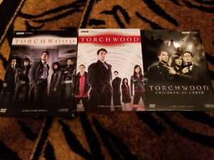 Torchwood Season 1,2 and Torchwood Children of Earth