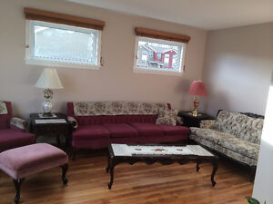Beautiful Bright 2 Bedroom Furnished Fairview Flat $1,100