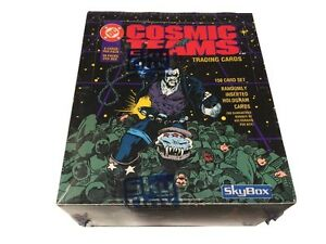1993 DC Comics Cosmic Teams SkyBox Factory Sealed Box