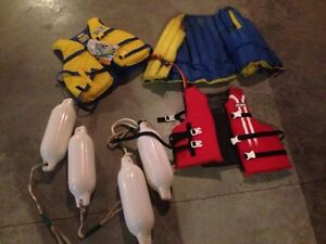Life jackets and bumpers