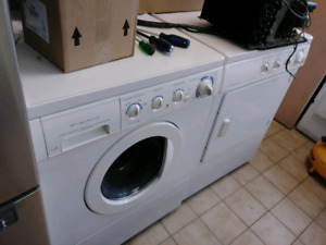 overstock on used washer and dryer sets or by them self