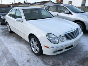 2006 Mercedes E350/Certified/Navigation/AWD/Leather Heated Seats