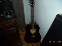 LEFTY guitare acoustique GAUCHERE g&K!