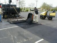 COMMERCIAL LOT PAVING REPAIRS
