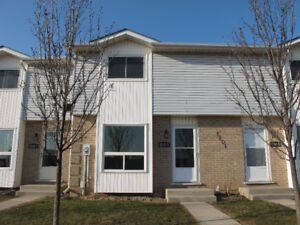Renovated 3 bedroom townhouse with A/C and granite counters