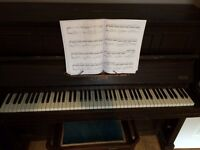 Free piano ('sold')