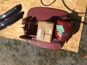 KEY CUTTING MACHINE WITH BLANKS AND MISC PARTS 75.00