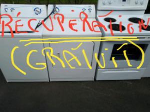 Récupération d électroménagers à domicile sans frais