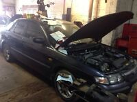 Mazda 626 Saloon R Reg Gunmetal Grey/Blue Spares or repairs