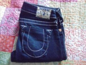 2 JEAN - TRUE RELIGION - TAILLE 26, made in USA