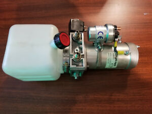 24v Hydraulic pump with Reservoir ( made in italy )