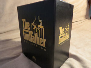 The God Father movie collection on VHS