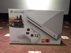 Xbox One Slim 500gb + Battlefield 1 BRAND NEW SEALED NEUF Scellé
