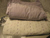 2 X SETS OF TWIN BED SHEETS