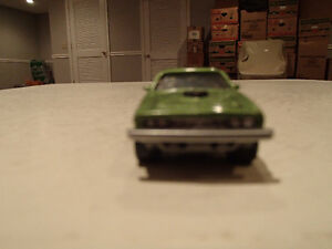 Loose Limelight Green 1971 '71 PLYMOUTH HEMI CUDA 426/425 by JOH Sarnia Sarnia Area image 2
