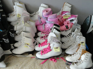 30 Different sized Girls - Boys & Youth Skates All Sizes London Ontario image 4