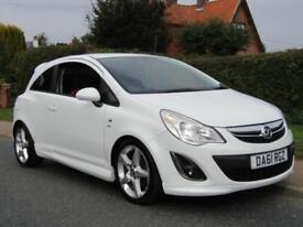 2011 Vauxhall Corsa 1.7 CDTi ecoFLEX SRi 130 BHP 3DR TURBO DIESEL HATCBACK **...