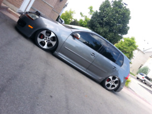 2007 Volkswagen GTI on baggs