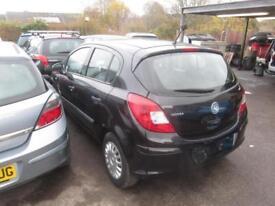 2007 Vauxhall Corsa Hatch 5Dr 1.0 12V 60 Life AC Petrol black Manual
