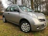 *NOT TO BE MISSED*ONLY 35,000 MILES FSH*12 MTHS WARRANTY*2007 NISSAN MICRA 1.2*