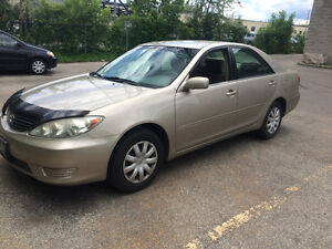 2005 Toyota Camry Le 4 cyl Safety Emission is Done