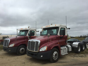 2011 FL Cascadia Day Cabs 500 hp 18 spd - Bendix Air Disc Brakes Edmonton Edmonton Area image 5