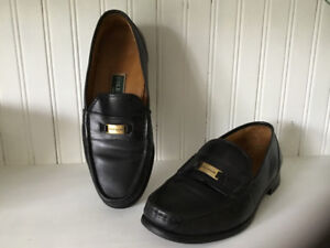 Men's black Cole-Haan leather loafers