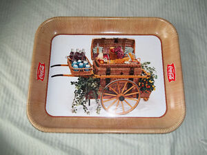 Coca-Cola Metal Serving Tray