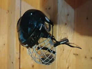 Reebok Hockey Helmet w/Bauer Mask