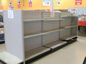 Metal Shelving Unit w/ Shelves - AS IS