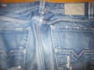 Diesel Jeans Larkee Brand New Mens Made In Italy