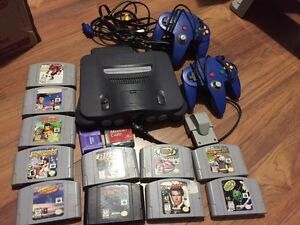N64 with 11 games