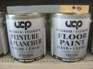 floor paint grey oil base interior exterior 3.78 L