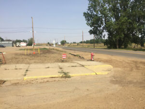 Serviced lot for sale in down town Radville,SK
