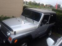 2004 Jeep Wrangler 4x4 Convertible
