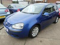 Volkswagen Golf 1.6 FSI (115) SE Blue 3 Door Hatchback Manual Petrol 2004