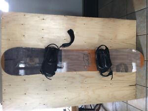 Snowboard and Bindings for sale (Rossingol)