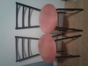 Wrought Iron Bar Stools For Sale!