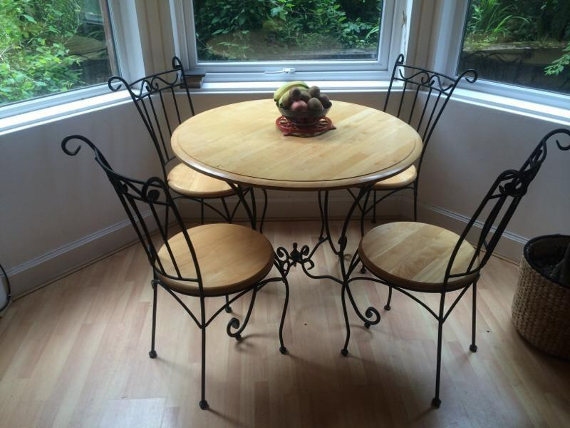 dining room table 4 chairs in shawlands glasgow gumtree